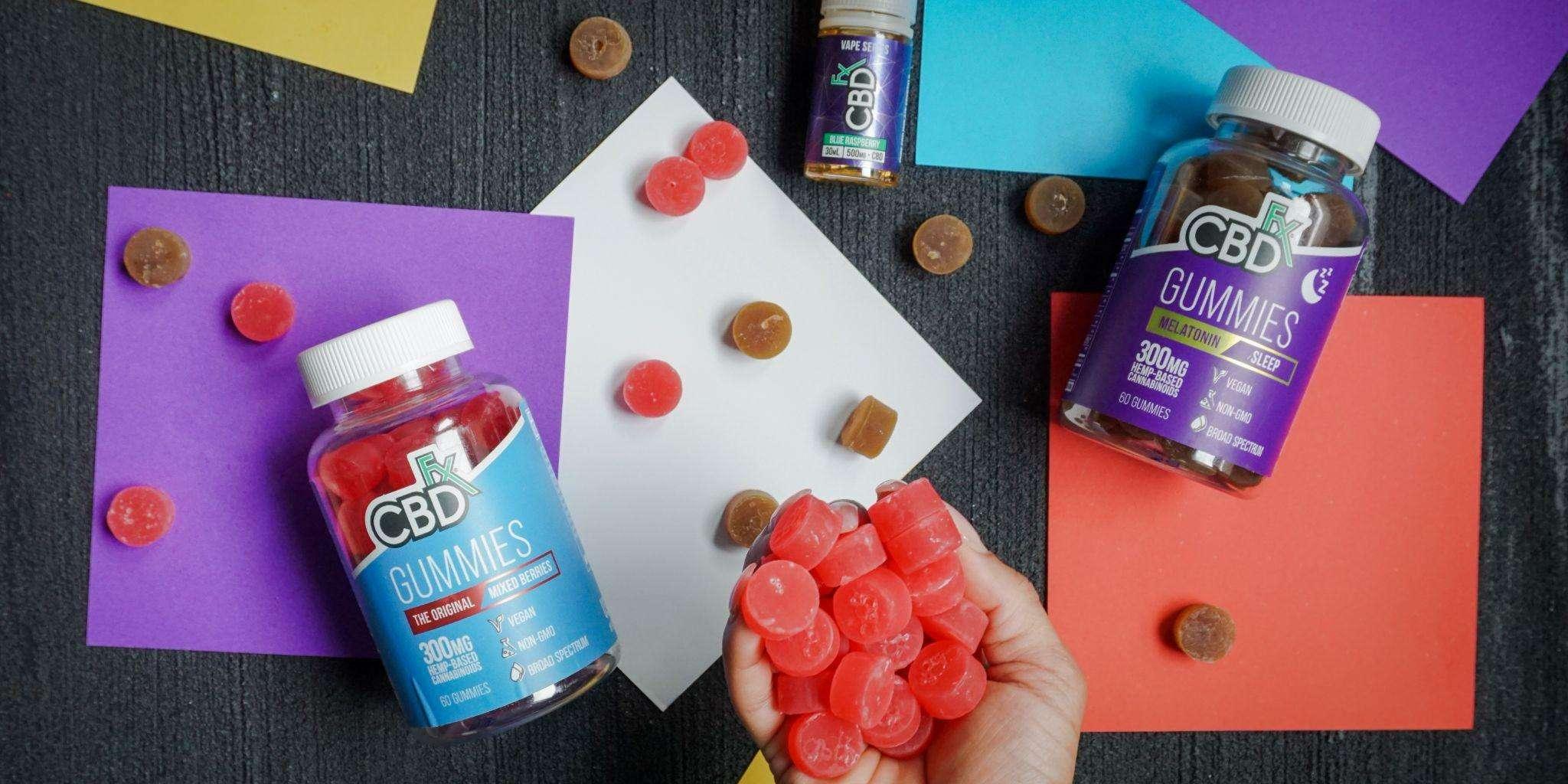 CBD gummies benefit athletes